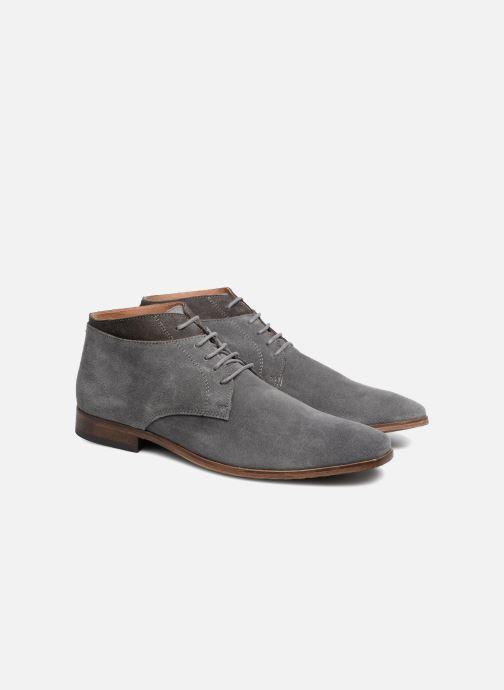 Bottines et boots Mr SARENZA Stall Gris vue derrière