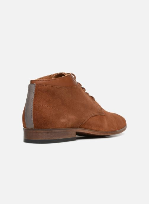 Bottines et boots Mr SARENZA Stall Marron vue face