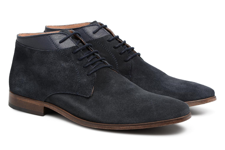 Bottines et boots Mr SARENZA Stall Bleu vue derrière