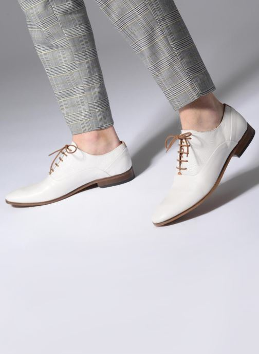 Zapatos con cordones Mr SARENZA Smary Blanco vista de abajo