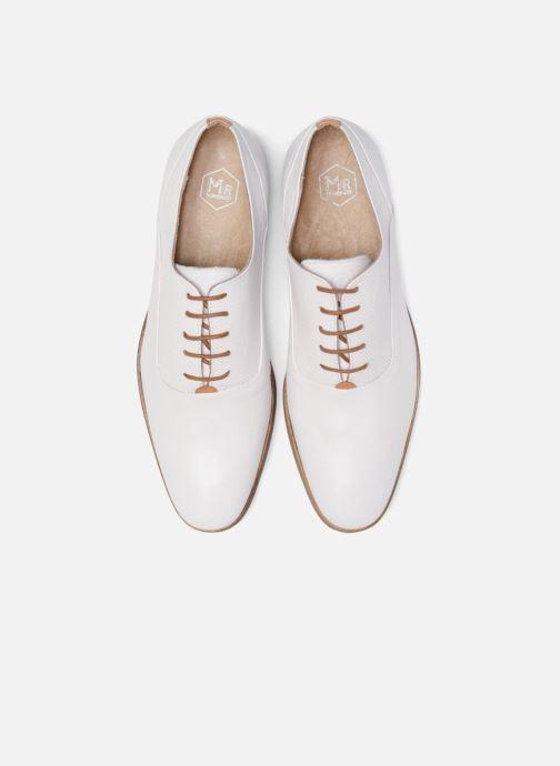 Zapatos con cordones Mr SARENZA Smary Blanco vista del modelo
