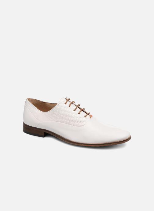 Zapatos con cordones Mr SARENZA Smary Blanco vista lateral derecha