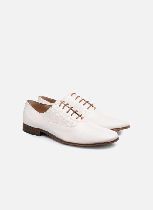 Zapatos con cordones Mr SARENZA Smary Blanco vistra trasera