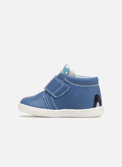 Bottines et boots Melania Celso Bleu vue face