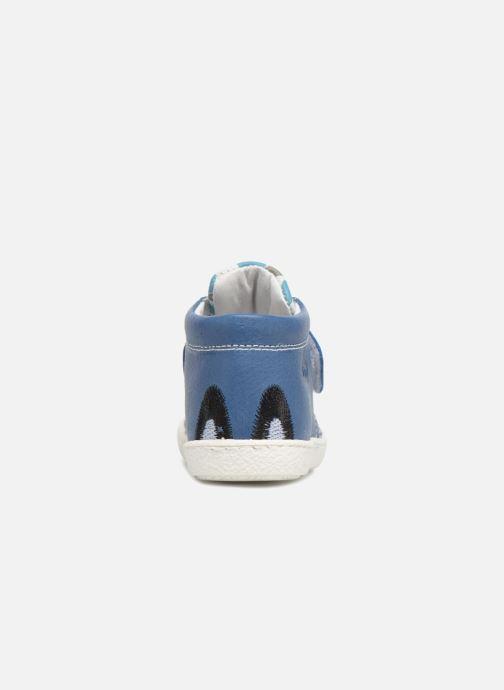 Bottines et boots Melania Celso Bleu vue droite