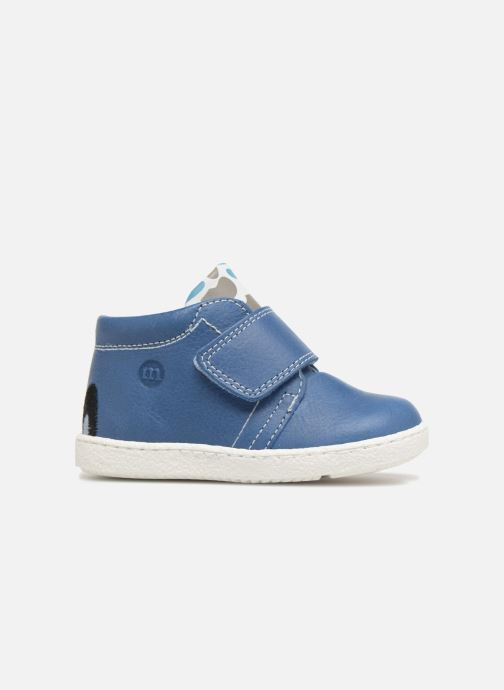 Ankle boots Melania Celso Blue back view
