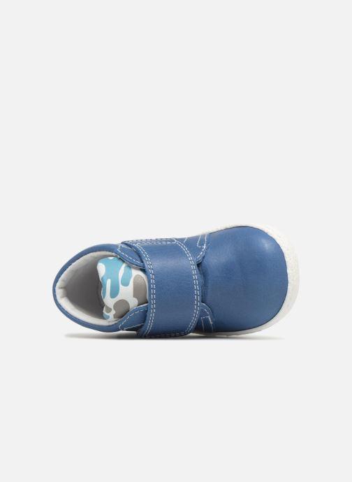 Bottines et boots Melania Celso Bleu vue gauche