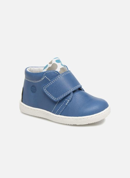 Ankle boots Melania Celso Blue detailed view/ Pair view