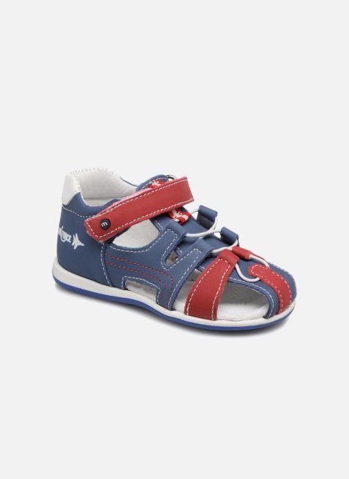 Sandales et nu-pieds Melania Dino Bleu vue détail/paire