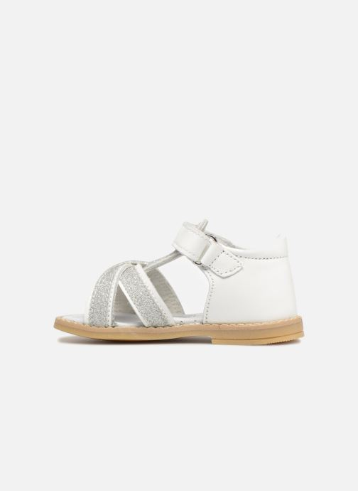 Sandals Melania Beata White front view