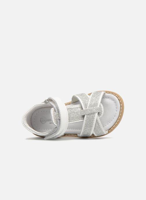 Sandali e scarpe aperte Melania Beata Bianco immagine sinistra
