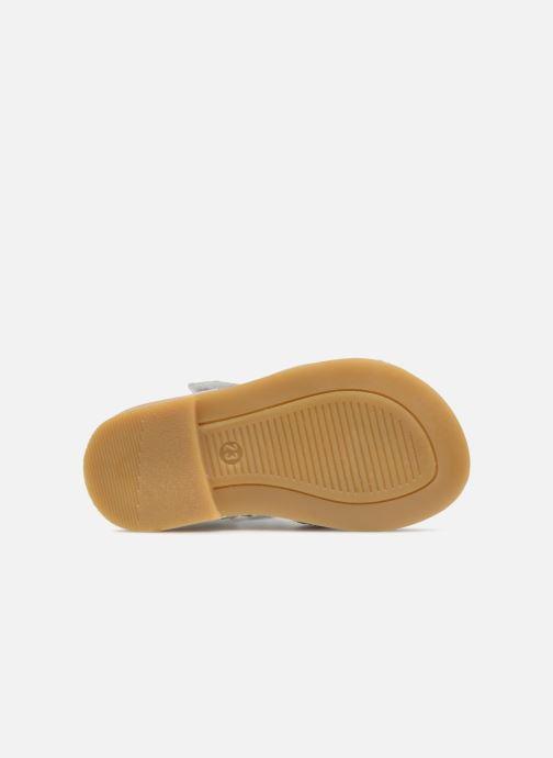 Sandales et nu-pieds Melania Beata Blanc vue haut