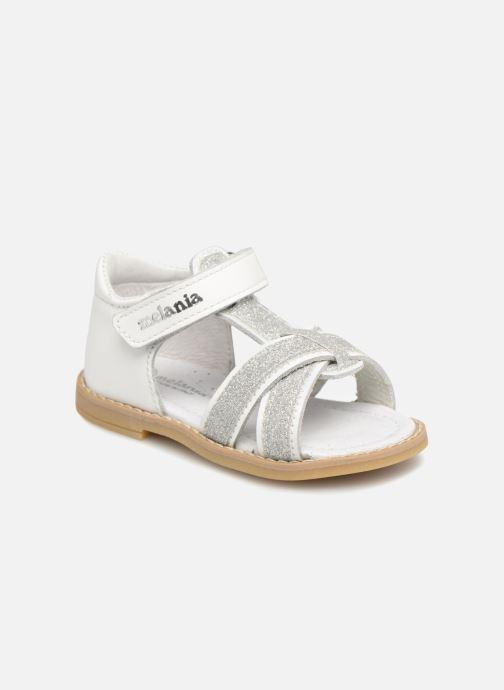 Sandales et nu-pieds Melania Beata Blanc vue détail/paire