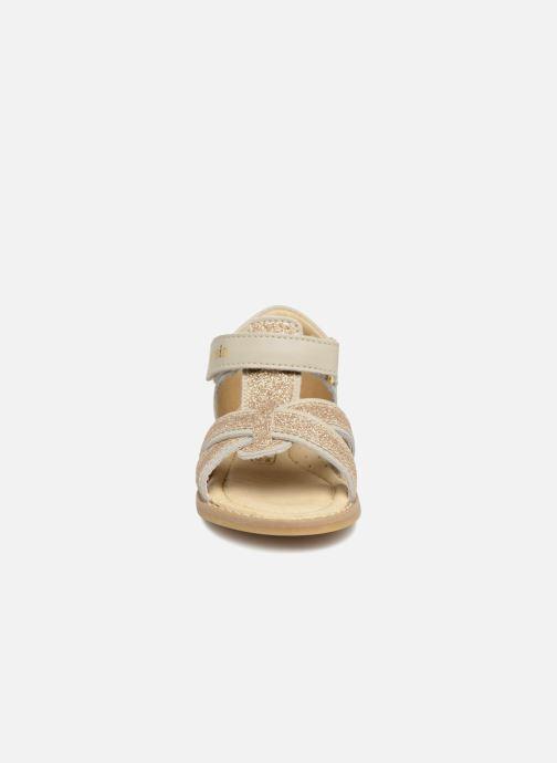 Sandales et nu-pieds Melania Beata Beige vue portées chaussures