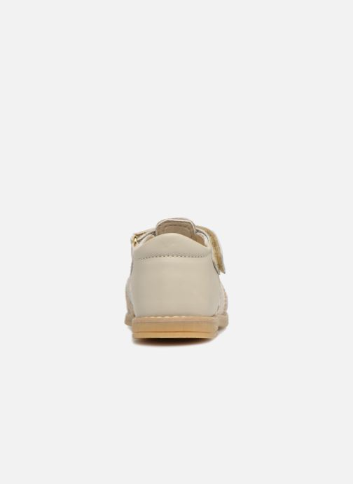 Sandals Melania Beata Beige view from the right