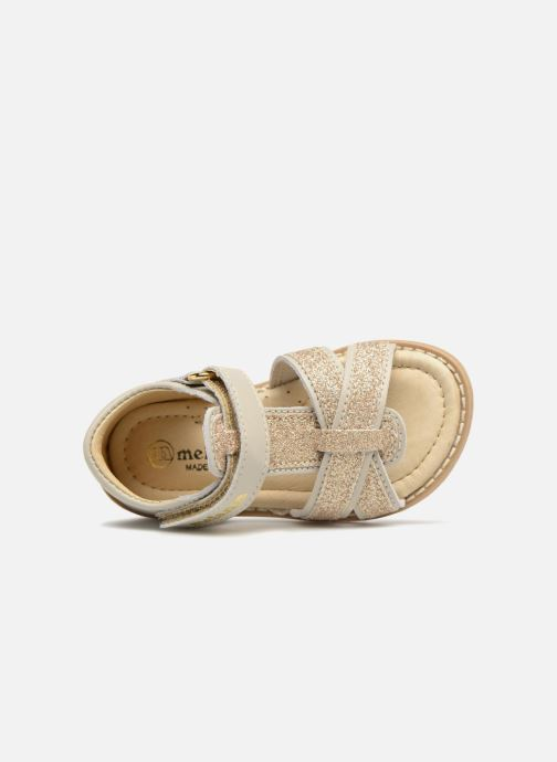 Sandals Melania Beata Beige view from the left