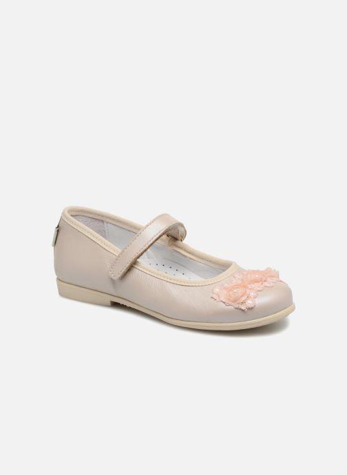 Ballerinaer Melania Mila Beige detaljeret billede af skoene