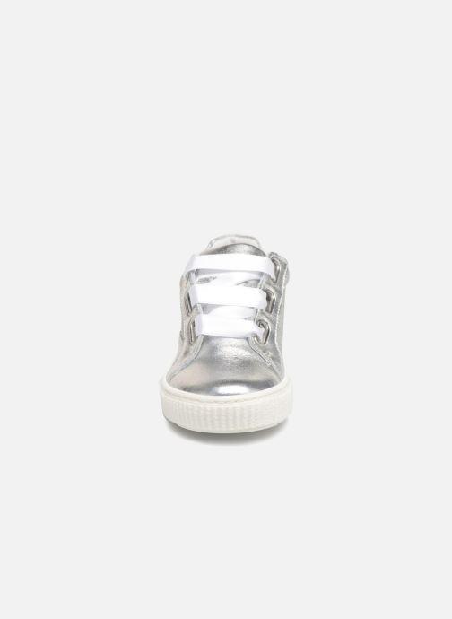 Baskets Melania Idelma Argent vue portées chaussures