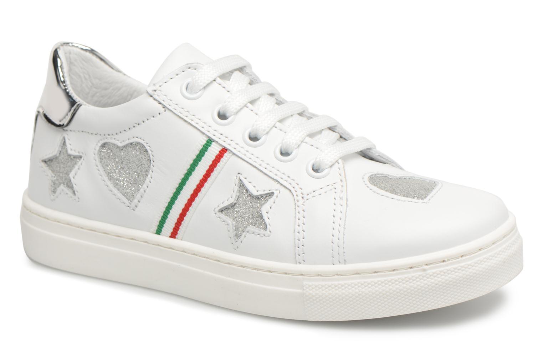 Sneakers Melania Armanda Wit detail