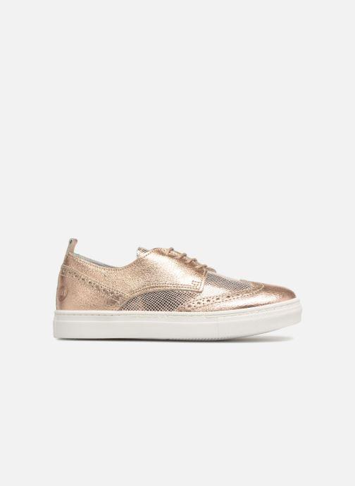 Chaussures à lacets Melania Bianca Or et bronze vue derrière