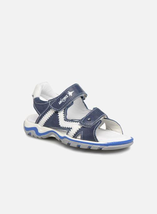 Sandales et nu-pieds Melania Nicola Bleu vue détail/paire