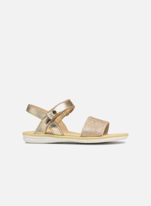 Sandales et nu-pieds Melania Ombeline Or et bronze vue derrière