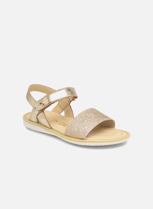 Sandales et nu-pieds Melania Ombeline Or et bronze vue détail/paire