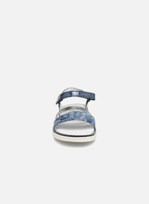 Sandales et nu-pieds Melania Ornella Bleu vue portées chaussures