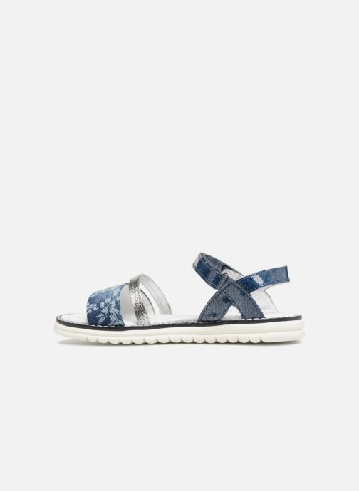 Sandals Melania Ornella Blue front view