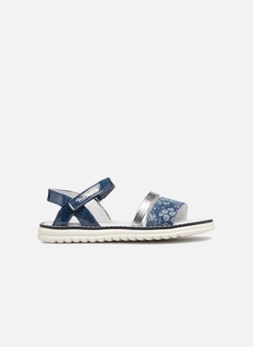 Sandales et nu-pieds Melania Ornella Bleu vue derrière