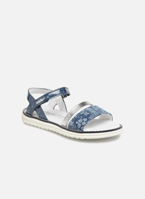 Sandals Melania Ornella Blue detailed view/ Pair view