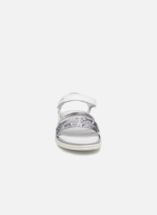 Sandali e scarpe aperte Melania Ornella Bianco modello indossato