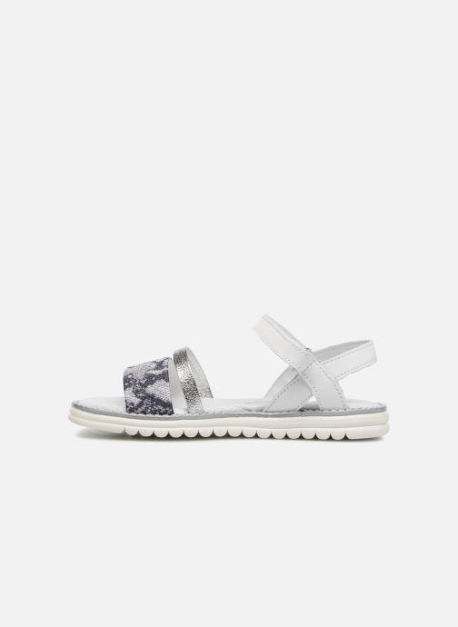 Sandali e scarpe aperte Melania Ornella Bianco immagine frontale