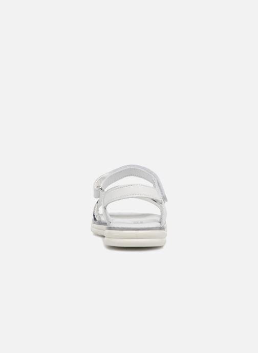 Sandali e scarpe aperte Melania Ornella Bianco immagine destra