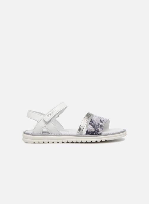 Sandali e scarpe aperte Melania Ornella Bianco immagine posteriore