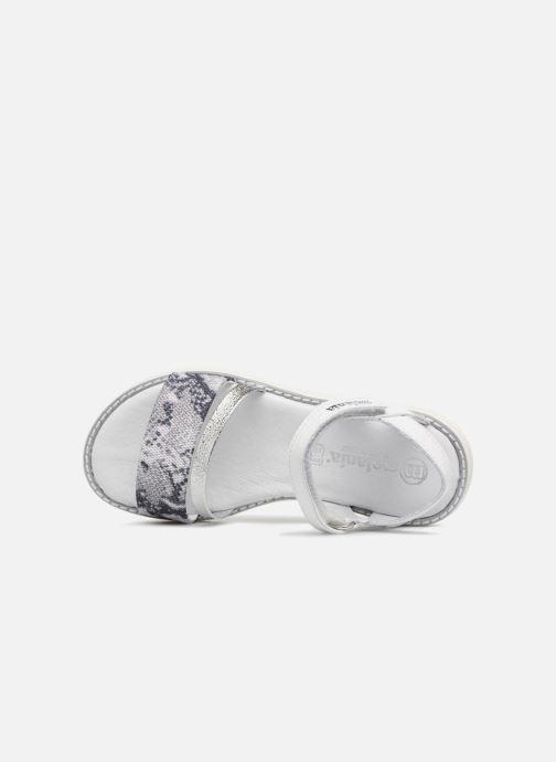 Sandali e scarpe aperte Melania Ornella Bianco immagine sinistra