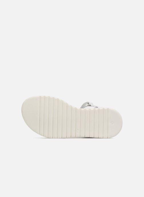 Sandali e scarpe aperte Melania Ornella Bianco immagine dall'alto
