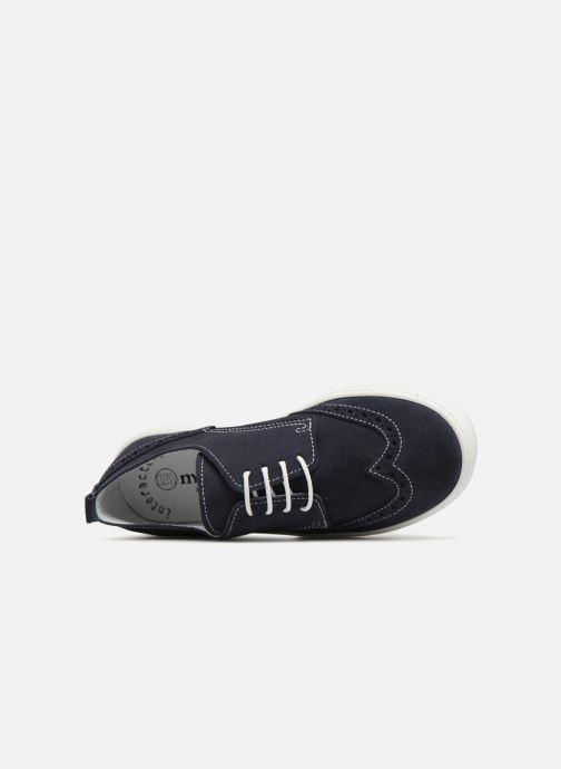Scarpe con lacci Melania Ofelia Azzurro immagine sinistra