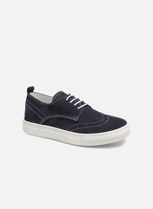 Snøresko Melania Ofelia Blå detaljeret billede af skoene