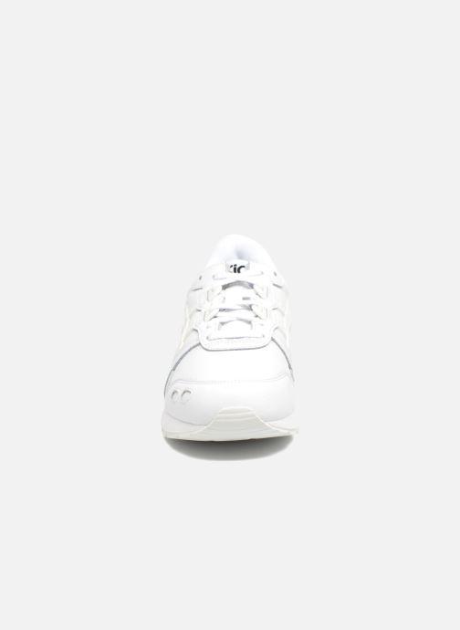 Baskets Asics Gel-Lyte W Blanc vue portées chaussures