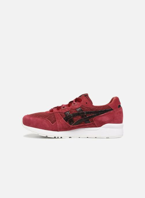 Baskets Asics Gel-Lyte W Bordeaux vue face