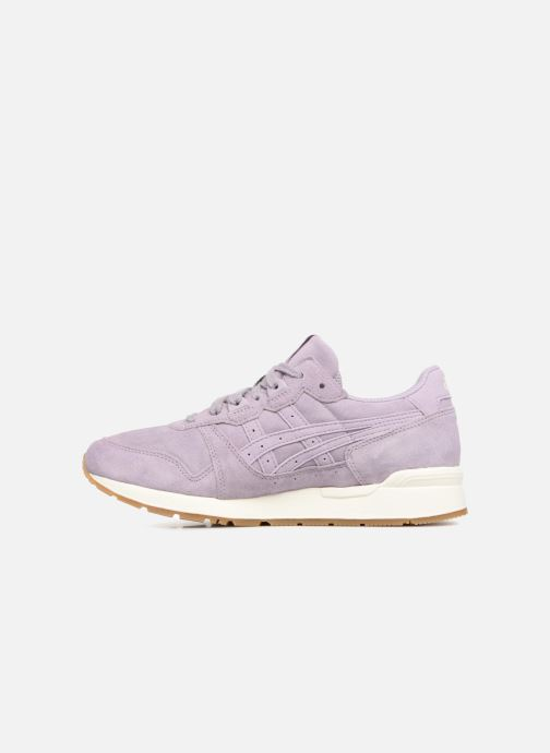 Baskets Asics Gel-Lyte W Violet vue face