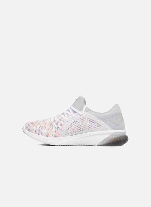 Chaussures de sport Asics Gel-Kenun Knit Blanc vue face
