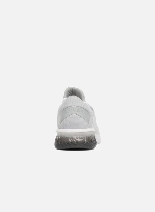 Chaussures de sport Asics Gel-Kenun Knit Blanc vue droite