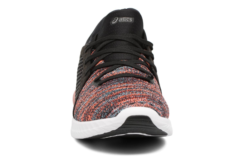 Chaussures de sport Asics Gel-Kenun Knit Orange vue portées chaussures