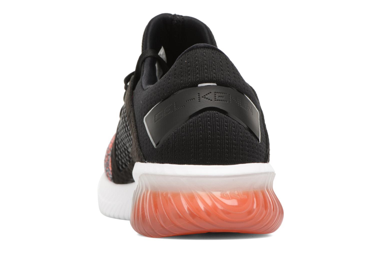 Chaussures de sport Asics Gel-Kenun Knit Orange vue droite