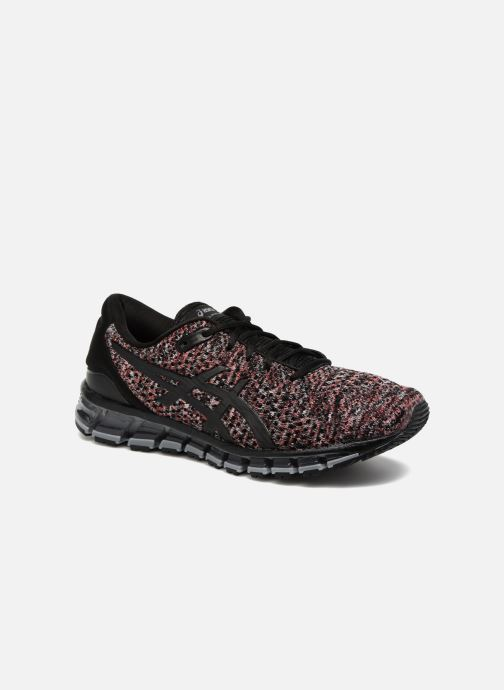 Sport shoes Asics Gel-Quantum 360 Knit 2 Red detailed view/ Pair view