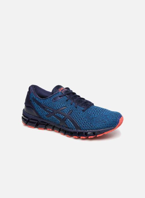 333007ec2e050 Chaussures de sport Asics Gel-Quantum 360 Knit 2 Bleu vue détail paire