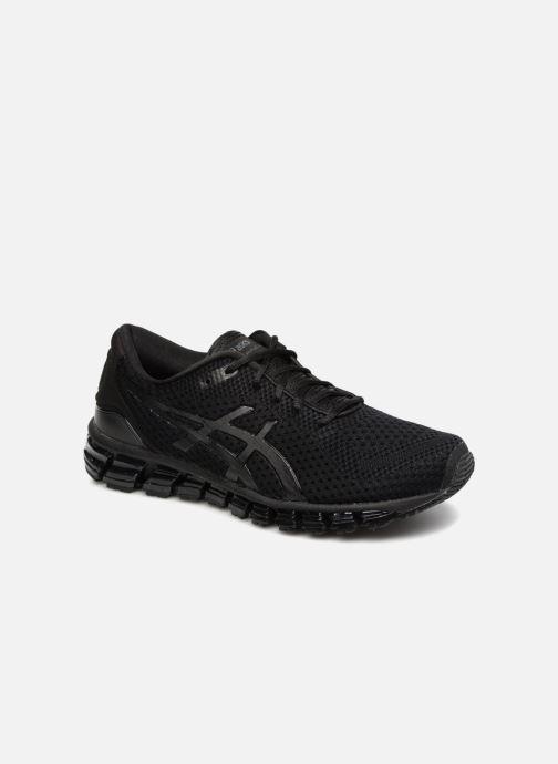 aff2aadce9a Chaussures de sport Asics Gel-Quantum 360 Knit 2 Noir vue détail paire