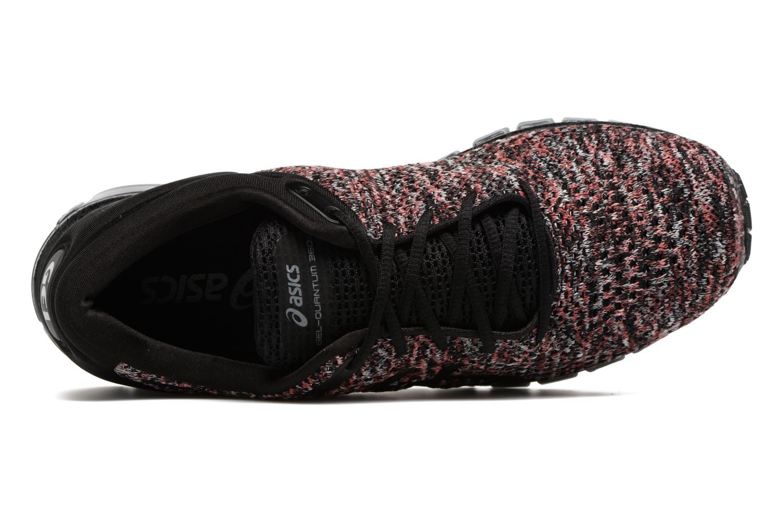 Chaussures de sport Asics Gel-Quantum 360 Knit 2 Rouge vue gauche